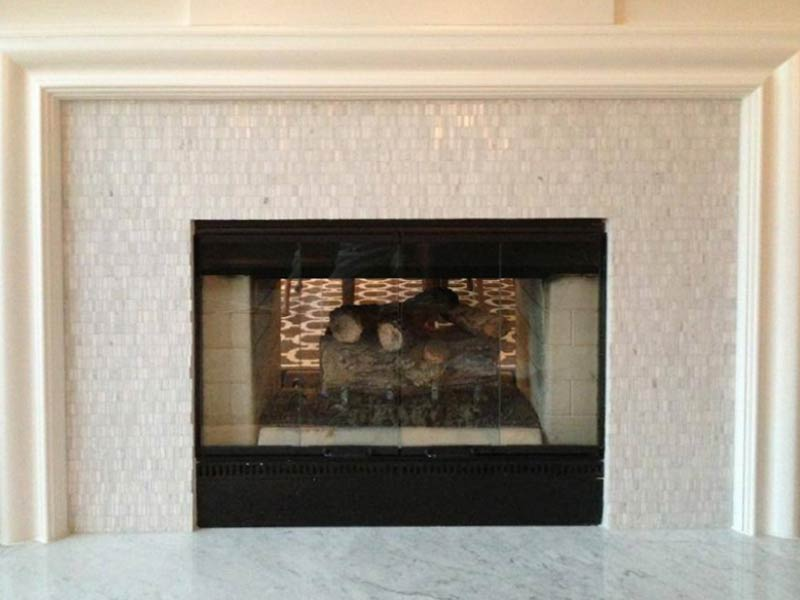 Gallery For Tile Fireplace Surround